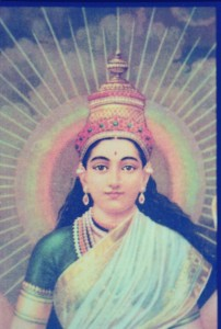 IMAGE OF UNIVERSAL DIVINE MOTHER MAI