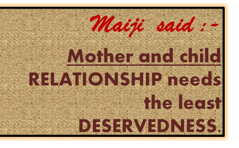 Be attracted to Mother. Make happyall-around.