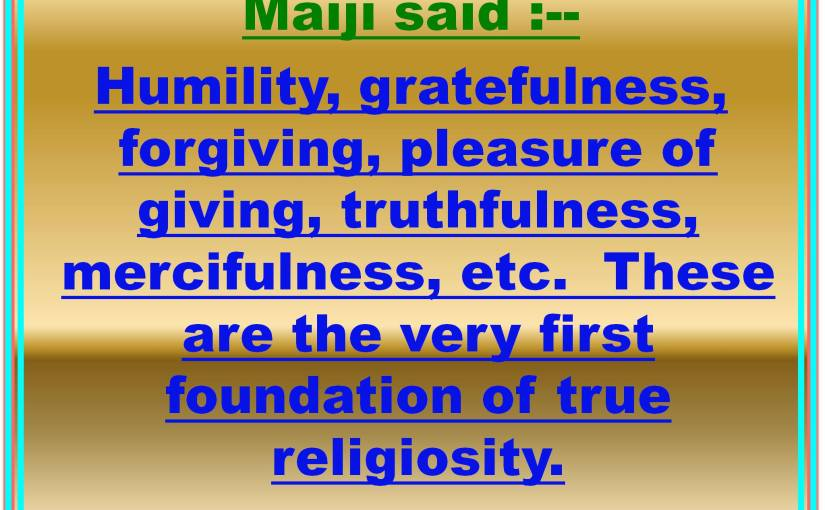 Develop Virtues,Character and humanfaculties