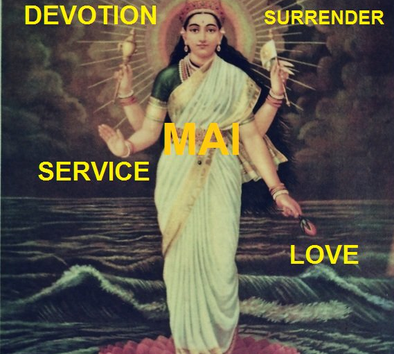 Divine Mother's command to install Her as Mai