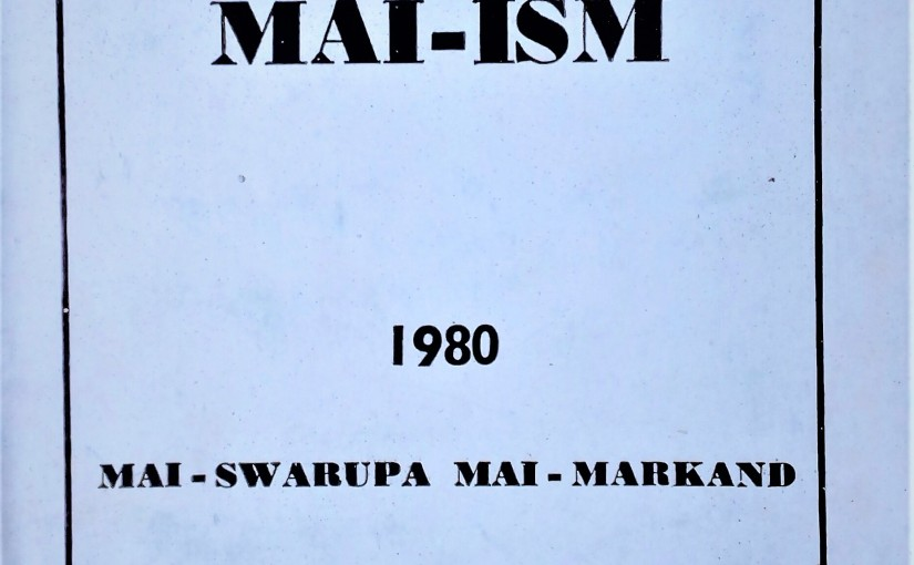 A PDF file of the book Abridged Maiism for free download