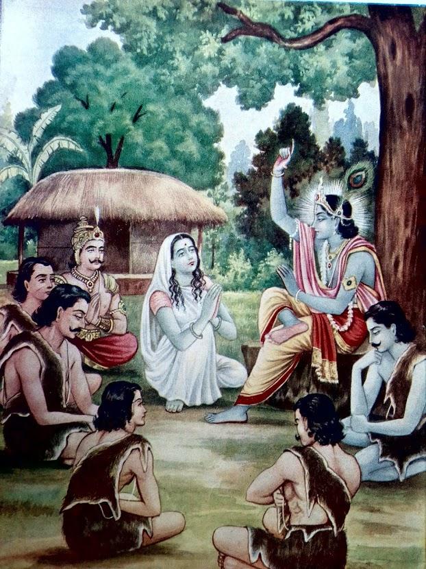 My devotee never perishes – Lord Shree Krishna