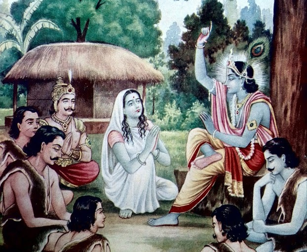 My devotee never perishes – Lord ShreeKrishna
